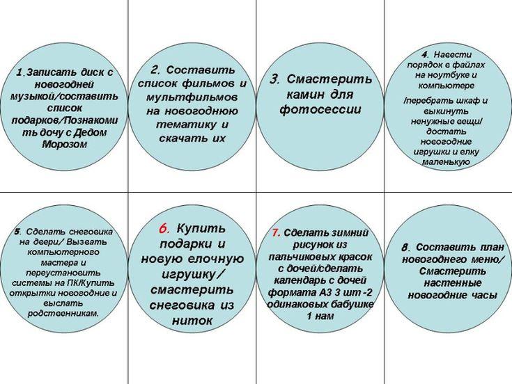 Задания для адвент-календаря. Вот что получилось... - Новый год, дни рождения - праздники и подарки - Babyblog.ru