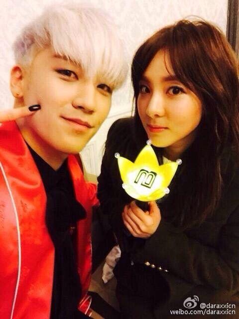 #Seungri #Seunghyun #maknae #BIGBANG #Dara #Sandara #visual #2NE1 #selca