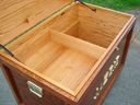 Tack Trunk with the lid open