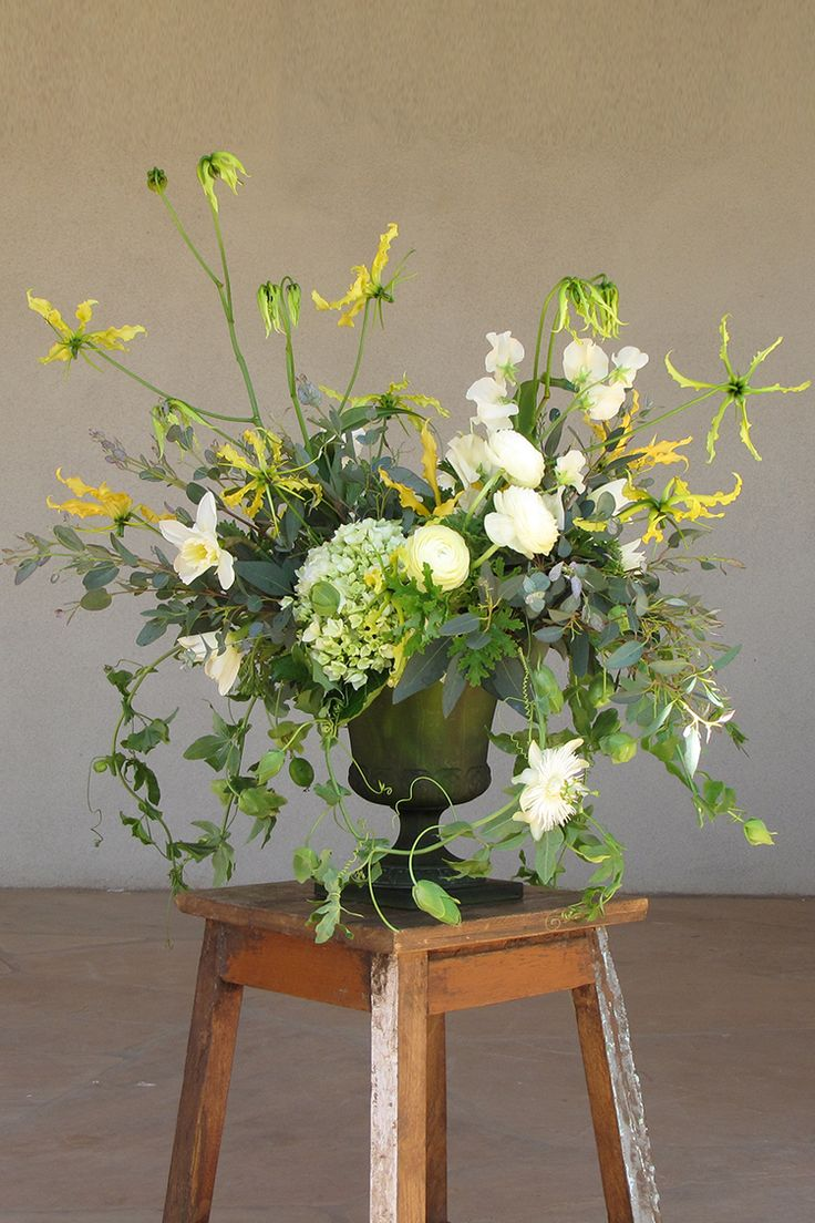 Not too full, pretty with the vase/holder. Like the multi-dimension
