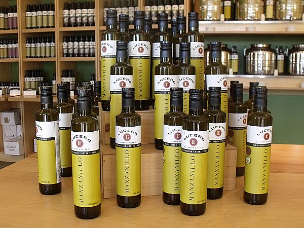 Lucero Olive Oil Tour and Tasting - Corning, California