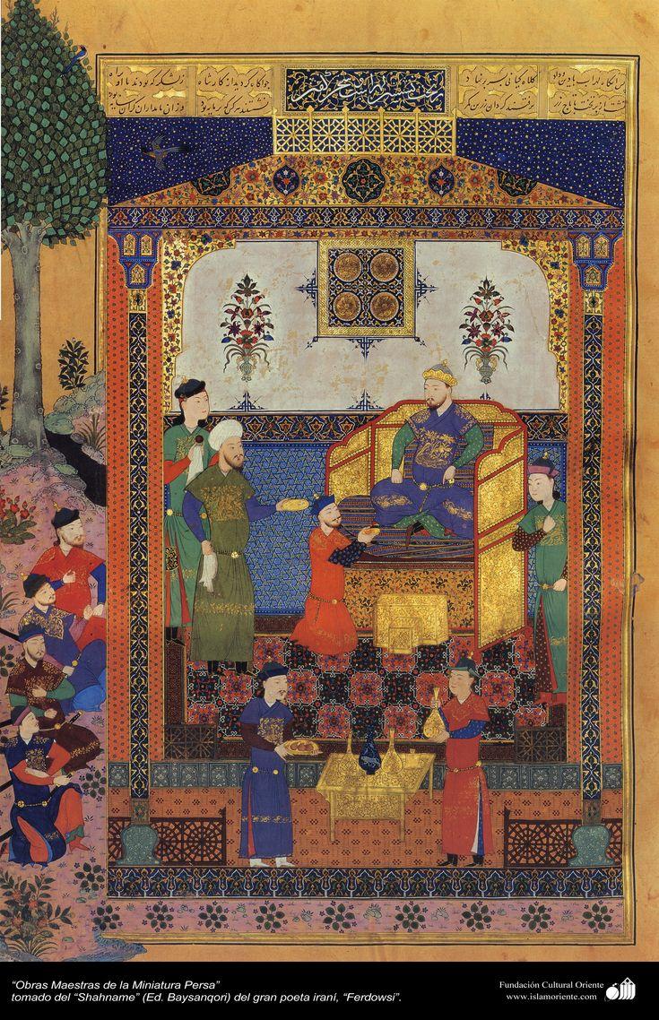 Masterpieces of Persian miniature - Shahname Ferdowsi Bayasanghori  مینیاتور فارسی - گرفته شده از شاهنامه فردوسی - بایسنقری