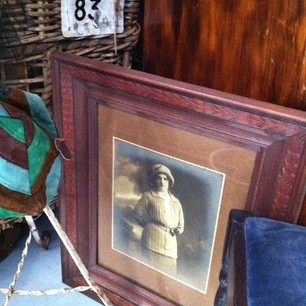 Antique picture for sale - http://www.timewornstyle.com
