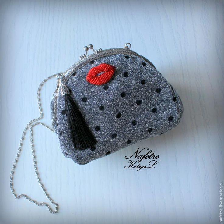 Создаем стильную объемную брошь из бисера «Red Lips» - Ярмарка Мастеров - ручная работа, handmade