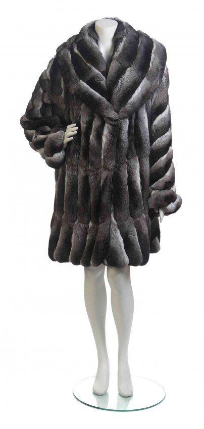Chinchilla Fur Coats | Chinchilla Fur Coat, : Lot 360