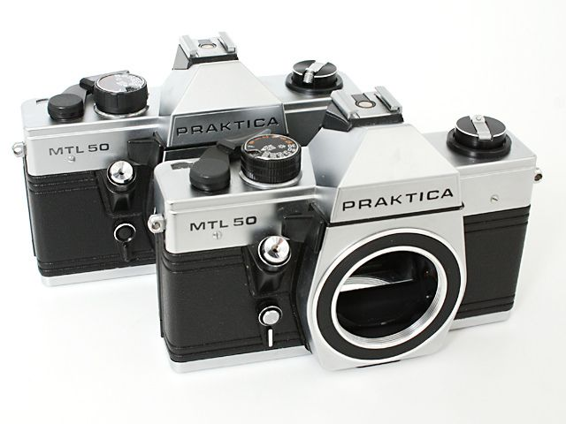 Praktica mtl version and pentac shutter speed