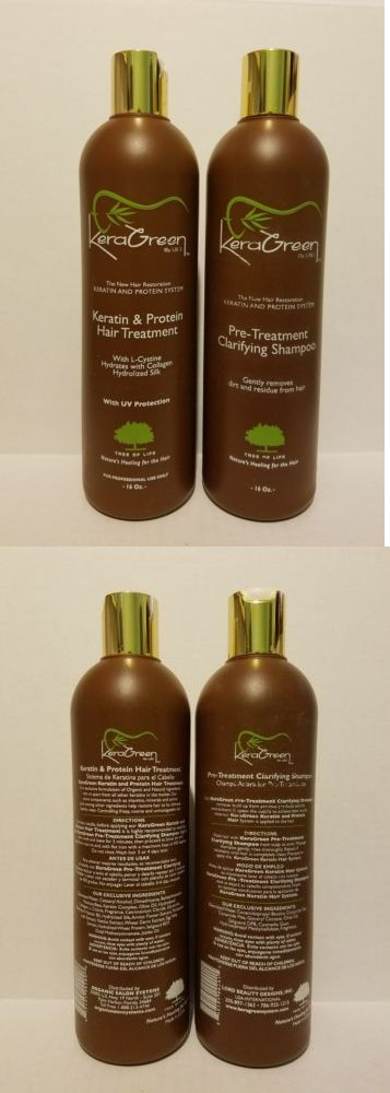 Treatments Oils and Protectors: Keragreen Keratin And Protein Hair Treatment And Pre Treat Clarifying Shampoo 16 Oz -> BUY IT NOW ONLY: $199.99 on eBay!