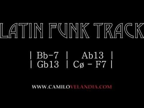 Backing Tracks - Latin Funk (Bb-) - YouTube