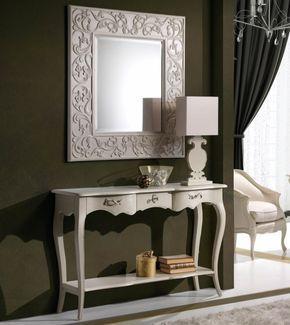 Consola Vintage Blanca Bangkok - Muebles Consolas Vintage - Muebles de Entrada Blancos