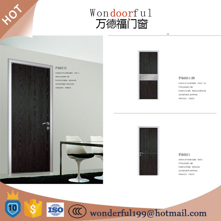The new material melamine board honeycomb ecological aluminum door