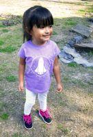 Future saying lavender shirt