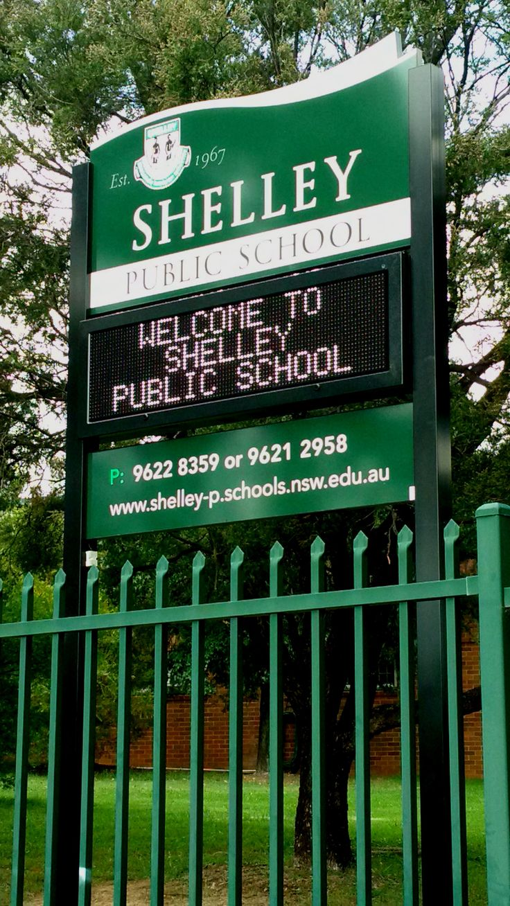 Shelley Public School #CSI #LED #Sign