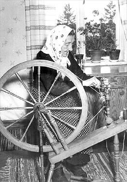 Erika Aittamaa, som uppfann lovikkavanten. Norrbottens museum