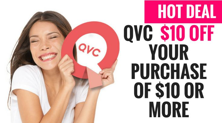 HOT! Right nowQVCis offering new customers$10 off your Purchase of $10or More! Plus if you buy something in thebeautyorelectronicsdepartment your shipping is FREE! Just use coupon codeTEN4Uat checkout. You just pay the tax.A minimum merchandise purchase of $10.00 USD, excluding shipping, handling, and applicable tax, is required.
