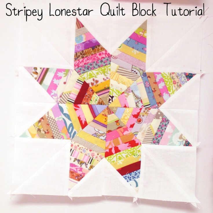 Stripey Lonestar Block Tutorial (another version) - will open in google documents (no printable templates but shows you how to create one)