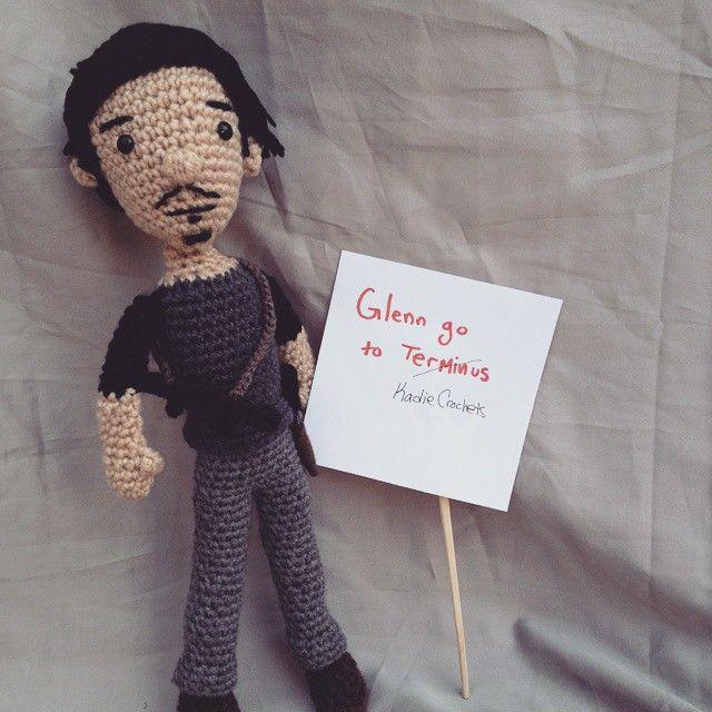 Image result for glenn walking dead crochet