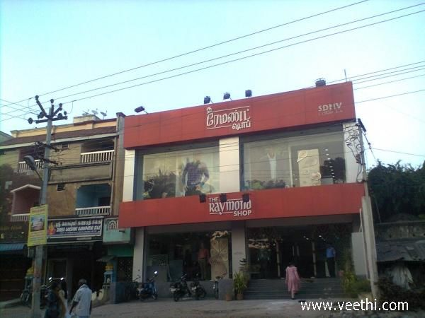 The Raymond Shop at Kanchipuram