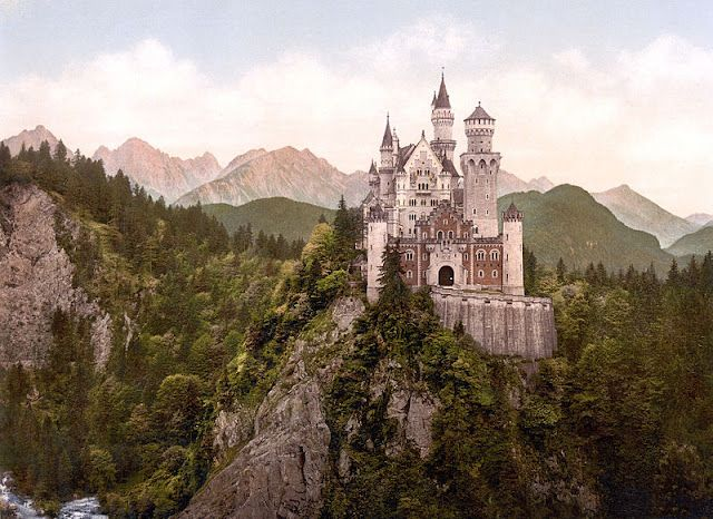 a real life 'disney' castle!