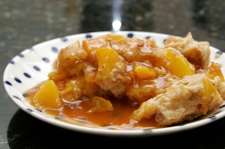 Moist and Delicious Peach Bread Pudding, So Easy to Make