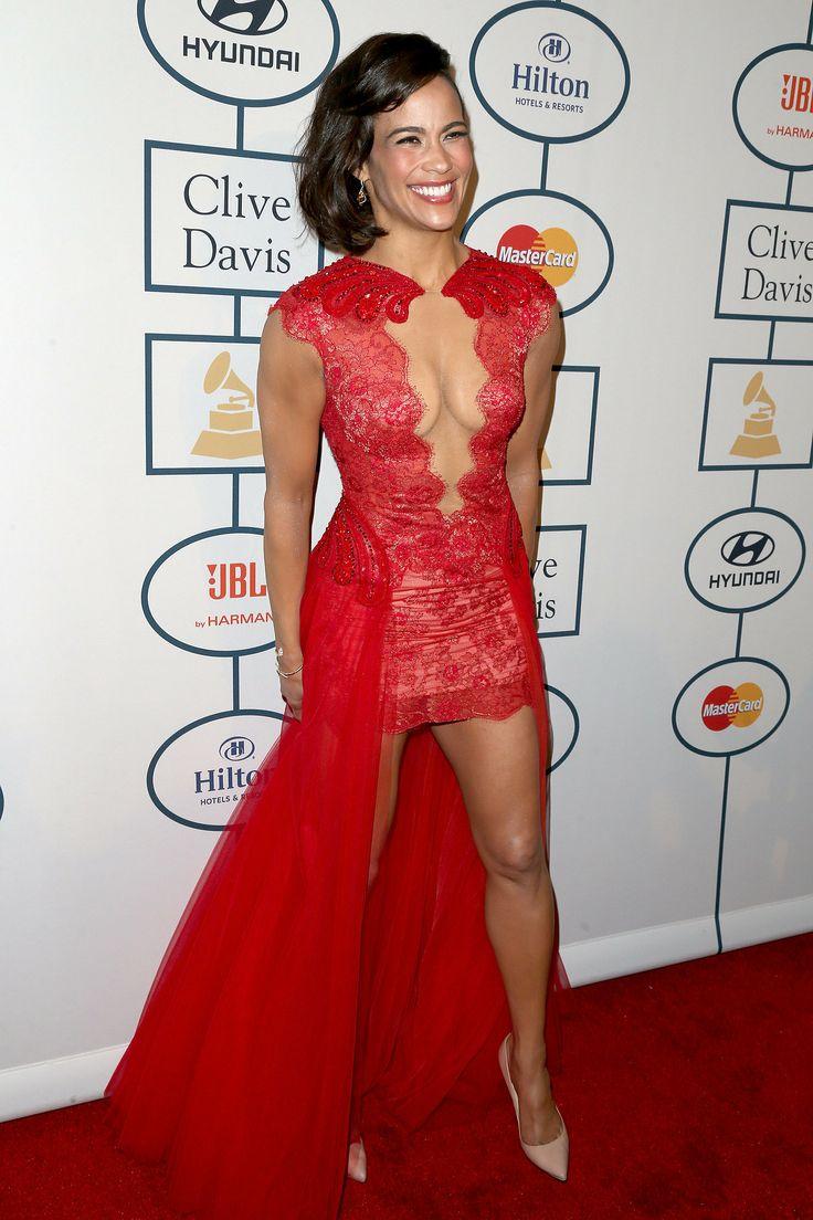 Paula Patton at the pre-Grammys gala.