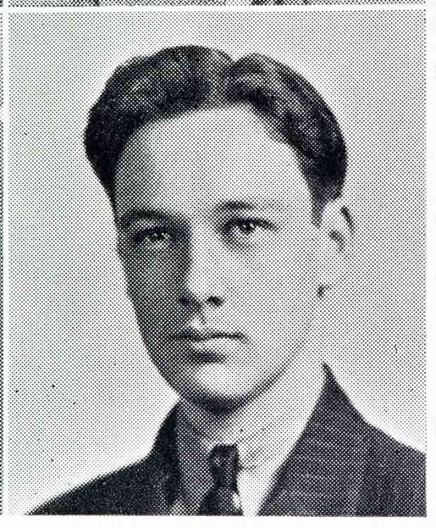 Here's a glimpse of the comic book legend as a teen from his 1939 high school yearbook..