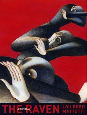 The Raven Lou Reed and Lorenzo Mattotti