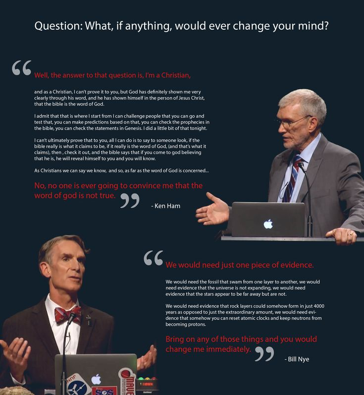 Christian Twitter tried to argue with Bill Nye during the Creation - know then thyself presume not god to scan
