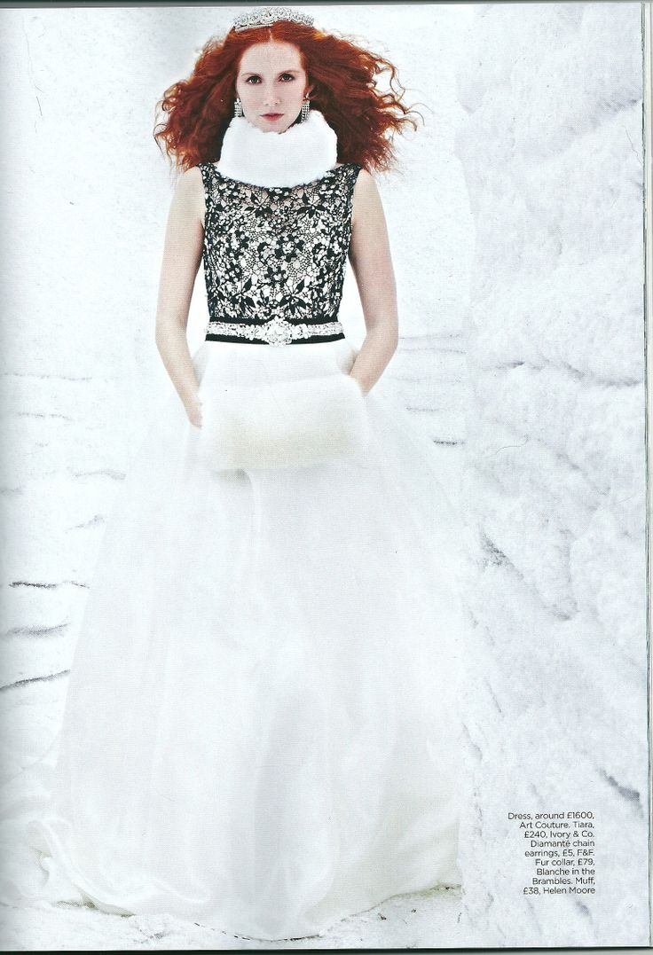 Bridal Collar by Blanche in the Brambles, as featured in You and Your Wedding