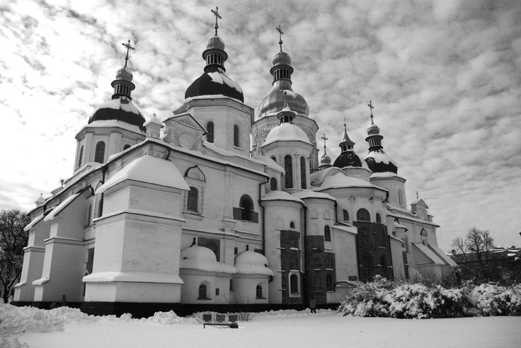 Photos : Kiev, capitale de l'Ukraine, en hiver