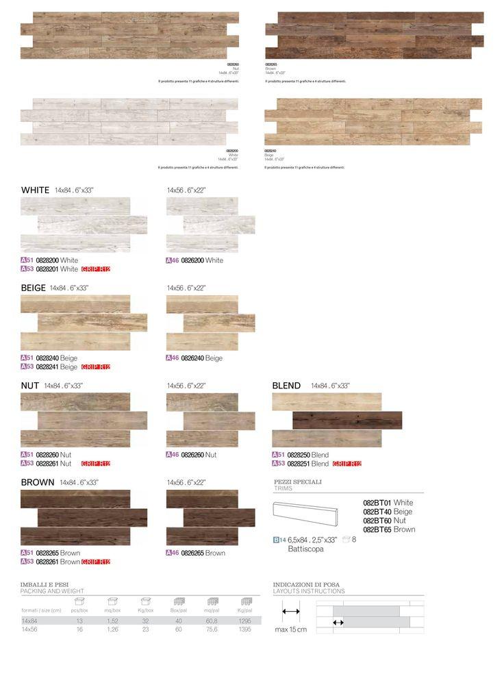 Elios Ceramica - Sequoia - Colori