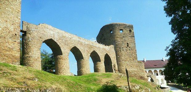 Velhartice castle in Czech republic