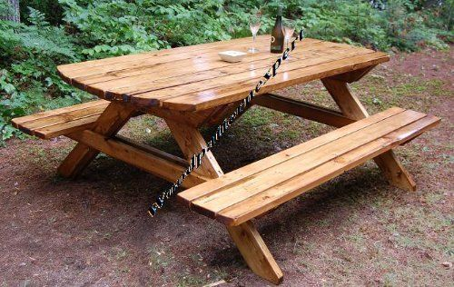 Standard picnic table size woodworking projects plans for 8 picnic table plans