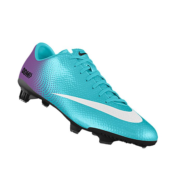 NIKEiD. Custom Nike Mercurial Veloce iD Soccer Cleat