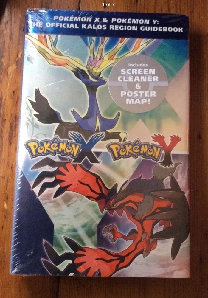 Pokemon X Pokemon Y The Official Kalos Region Guidebook Brand New In Shrinkwrap  | eBay