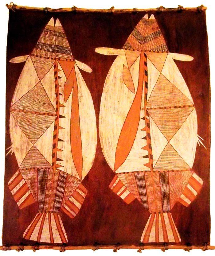 Peces- arte aborigen australiano