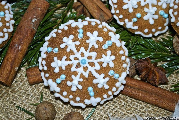 Pierniczki -płatki śniegu