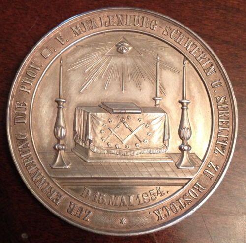 1754 Meklenburgs Erste Freimaurerloge St Michael Gegrundet 22 Grams   eBay