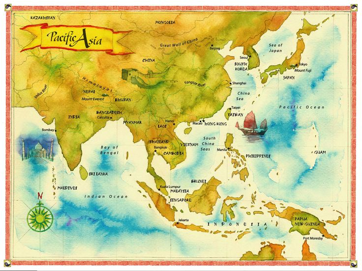 44 best worldmap images on Pinterest World maps, For the home and - copy hong kong world map asia