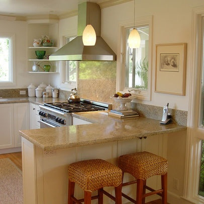 Beau L Shaped Kitchen Design, Pictures, Remodel, Decor And Ideas   Page 4