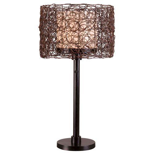 Attractive Kenroy Home Tanglewood Bronze Outdoor Table Lamp
