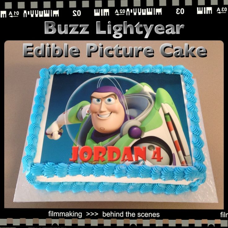 Buzz Lightyear Edible Picture Cake