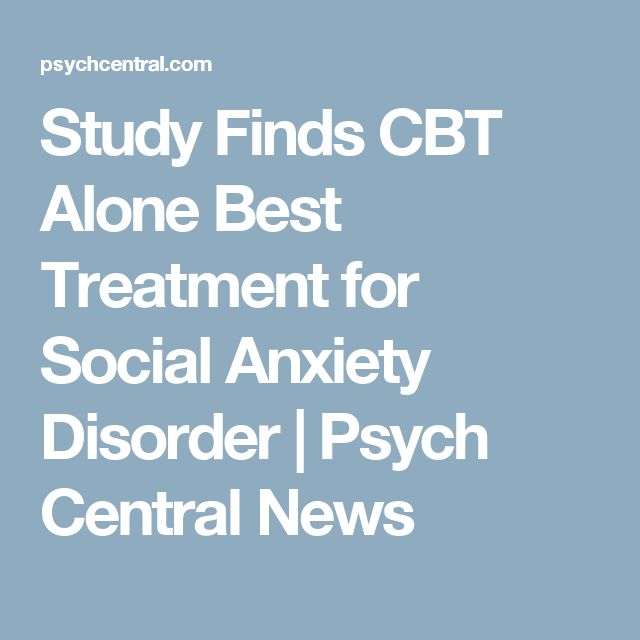 Generalized Anxiety Disorder Treatment Plan