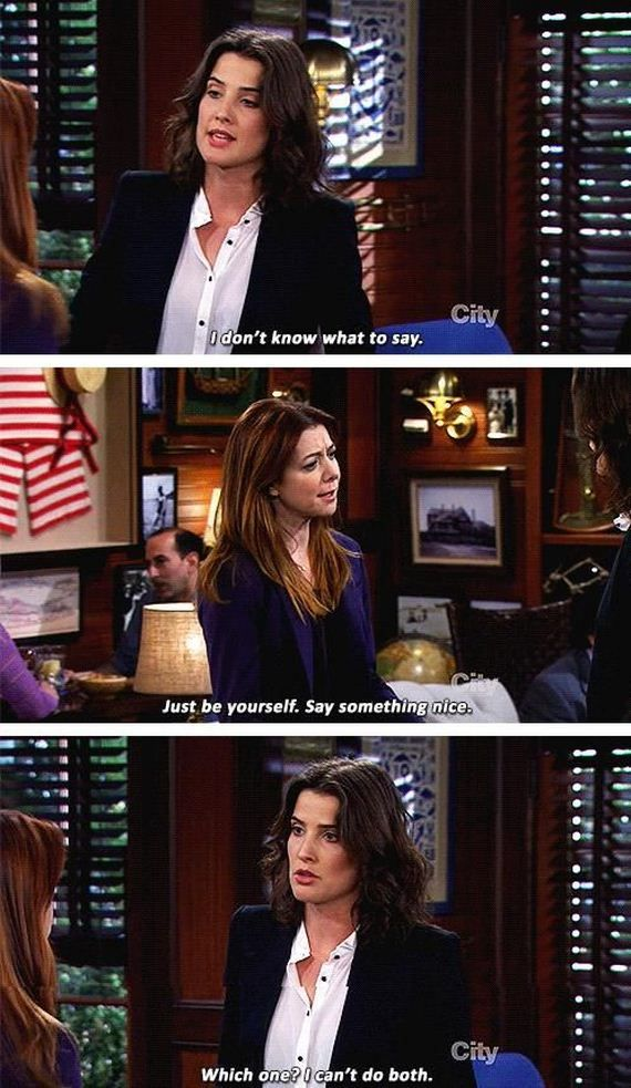She's a little like me #himym how I met your mother