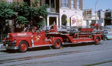Boston 1962 Seagrave, Ladder 24