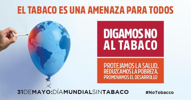 OMS: El Tabaco, una amenaza para todos