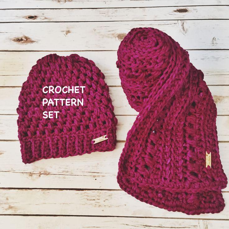 Puff Stitch Hat Free Crochet Pattern Bhooked Crochet Akrossfo