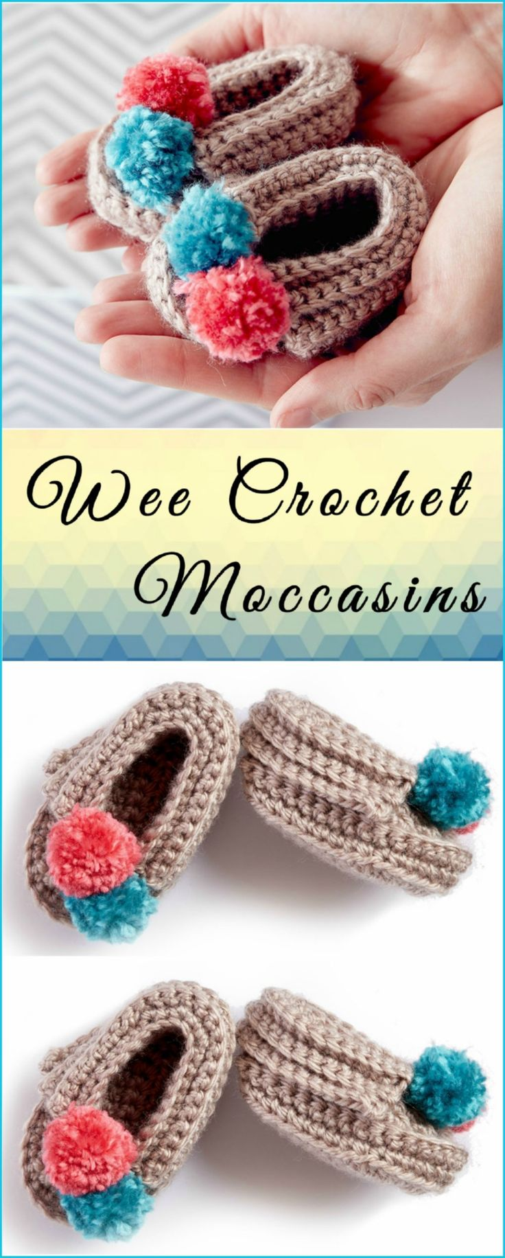 Baby Moccasins Crochet Tutorial
