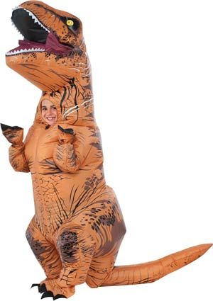 Inflatable T-Rex Kids Costume - Jurassic World Costumes