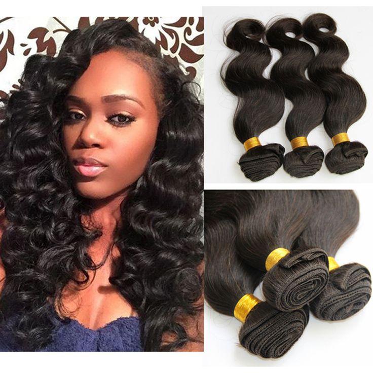 344 best hair extensions wigs images on pinterest extensions brazilian body wave hair bundles 1pcs virgin brazilian human natural hair bundles cheap natural color human pmusecretfo Gallery