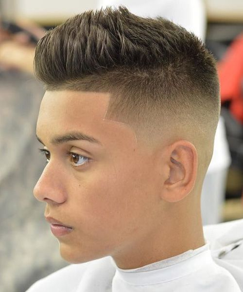 Boys Side Buzz Hairstyles 2016
